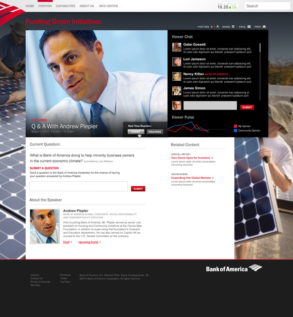 Bank of America Enterprise Site Image 3