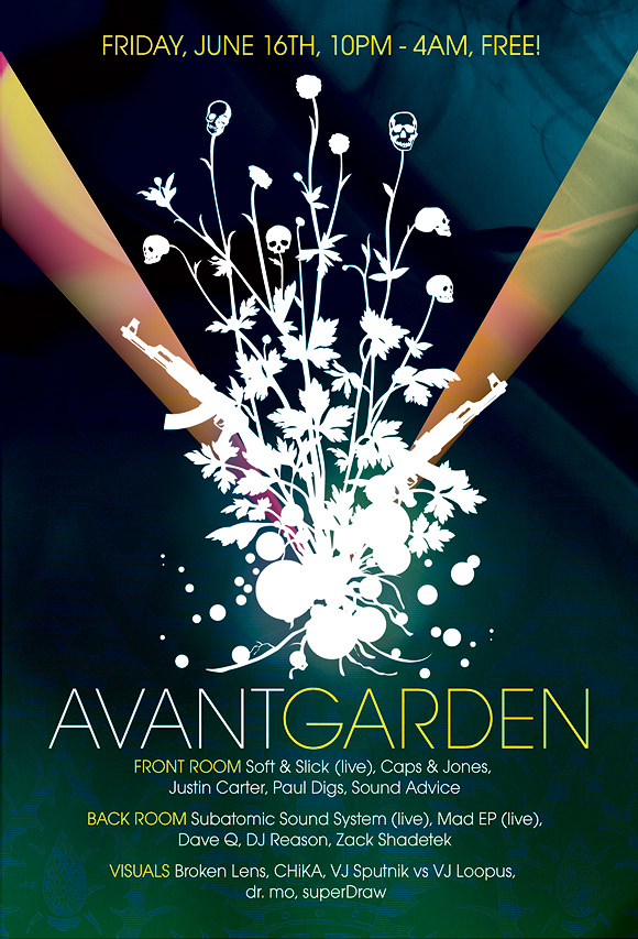Avant Garden Freenyc Graphic Design Defined By