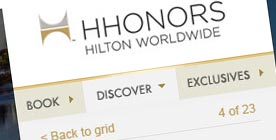 Hilton Honors Site Proposal